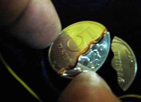 Как можно сделать из монеты 10 100