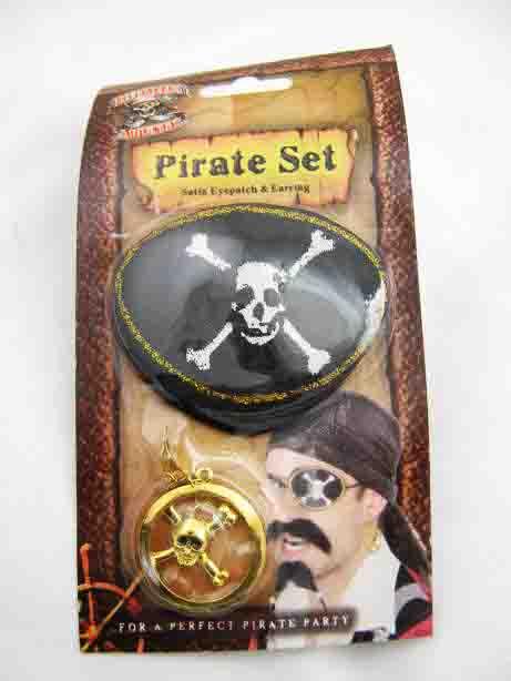 Как сделать серьгу пирату