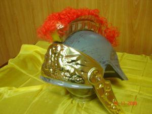 Шлем римский (пластик.)