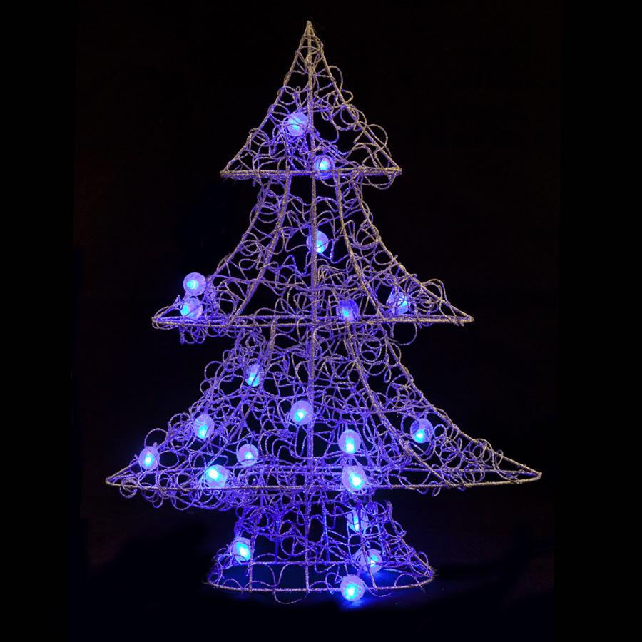 Светящиеся елка своими руками
