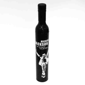 Зонт черный в бутылке