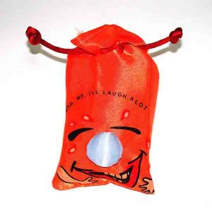 Мешок со смехом (оранжевый)