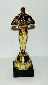 Оскар на золотой подставке (20 см.)