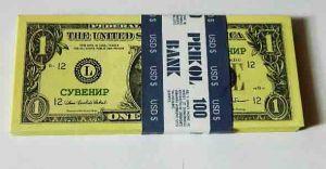 Пачка денег 1 $
