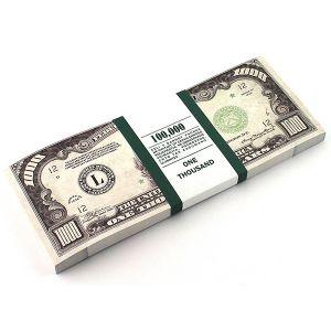 Блокнот 1000$