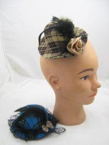Мини-шляпка Шотландка