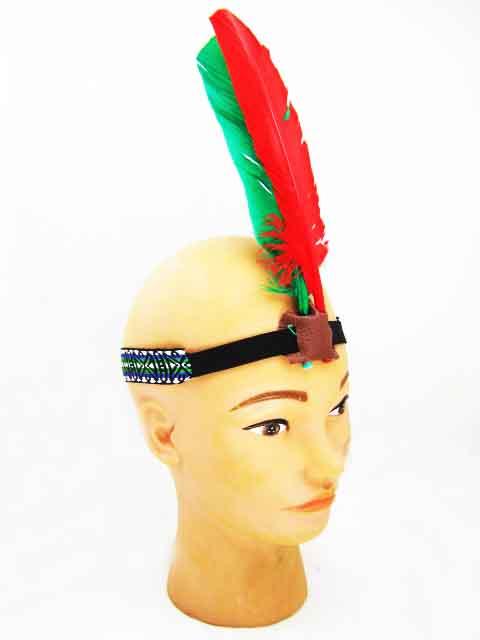 Как сделать повязку на голову индейца