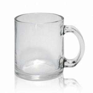 Кружка стеклянная прозрачная (для сублимации)