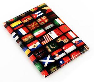 Обложка на паспорт Флаги