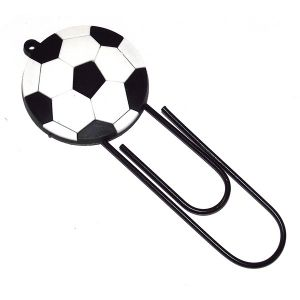 Закладка-скрепка  Мяч (12см.)