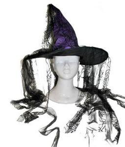 Колпак ведьмы фиолетовый