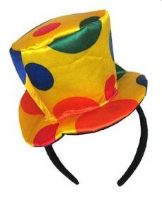 Шляпка клоуна