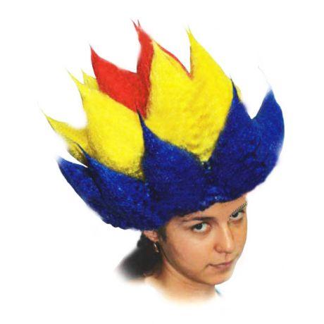 Как сделать парик клоуна