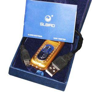 Зажигалка без пламени USB (встроен детектор валют)