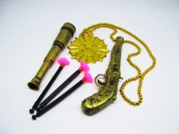Набор Пирата (Пистолет, труба и талисман)