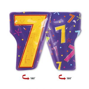 Шар фигура цифра 7