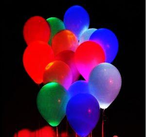 Шарики воздушные светящиеся (набор 5 шт)
