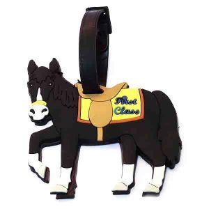 """Бирка для чемодана """"Лошадка"""""""