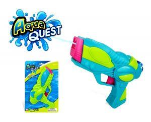 Пистолет, стреляющий водой, голубой