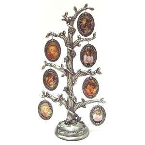 Рамка для фотографий в виде дерева(7 фото, серебро)
