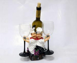 Подставка для вина «Два повара»