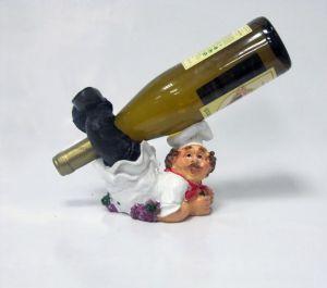 Подставка для вина «Повар лежит»