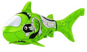 Роборыбка-акула (зеленая)