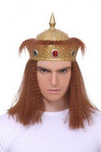 Корона с волосами