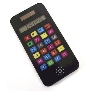 Калькулятор цветной малый в виде Айфона