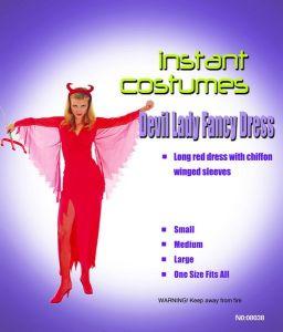 Платье Леди-Дьявол