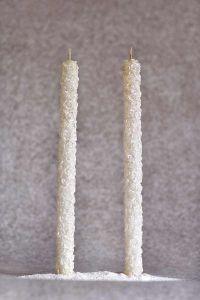 Свеча Родительская пара №4 (белый)