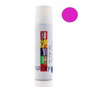 Лак для волос флуоресцентный розовый