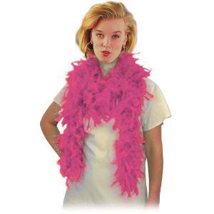 Боа из перьев, розовое (длина 180 см.)