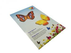 """Стикер """"2 бабочки"""""""