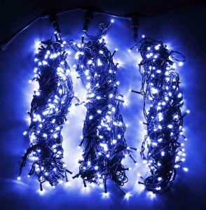 Спайдер 3х20м (постоянного свечения, синий)
