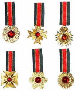 Медальон с камнем