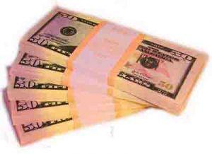 Пачка денег 50$