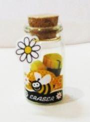 Ластики в банке Пчелки